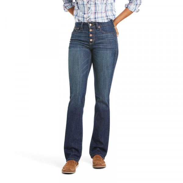Ariat Womens Real Straight Jeans HR Kirstin