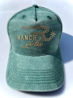 Ranchgirl Cap Fade Out ivygreen